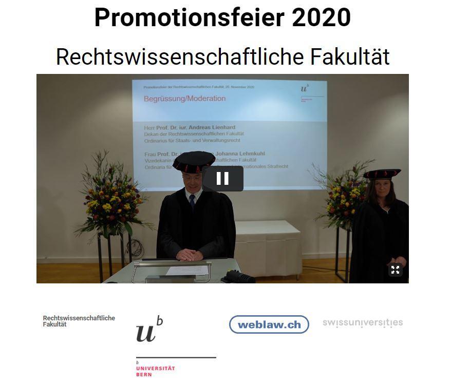 Diplomfeier UniBe
