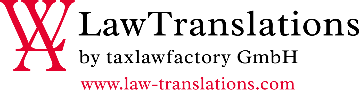 LawTranslations Logo