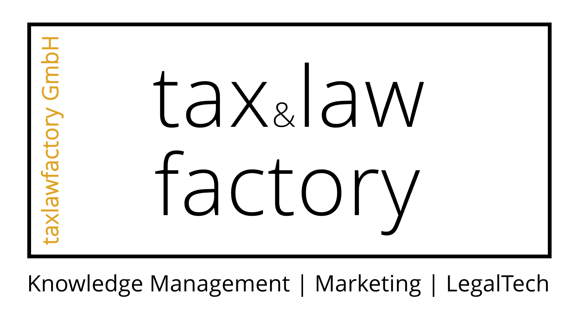 TaxLawFactory GmbH Logo
